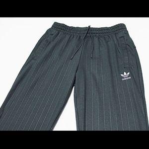 adidas Pants - $80 ADIDAS Carbon Stripe Cuffed Sweatpants Joggers